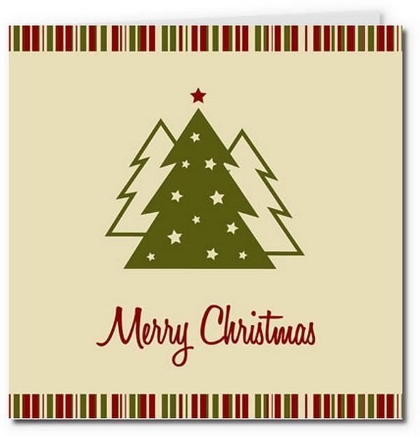 40 Free Printable Christmas Cards 2017