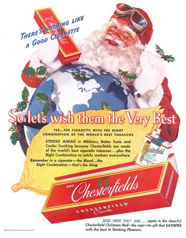 50 Beautiful Vintage Christmas Ads Showcase 2017