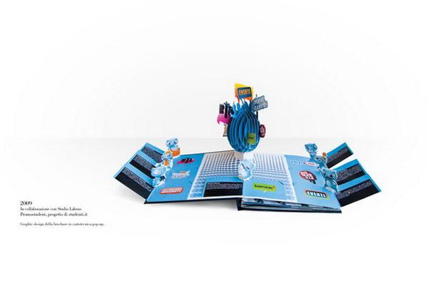 30 Cool 3D Pop Up Brochure Design Ideas 2017