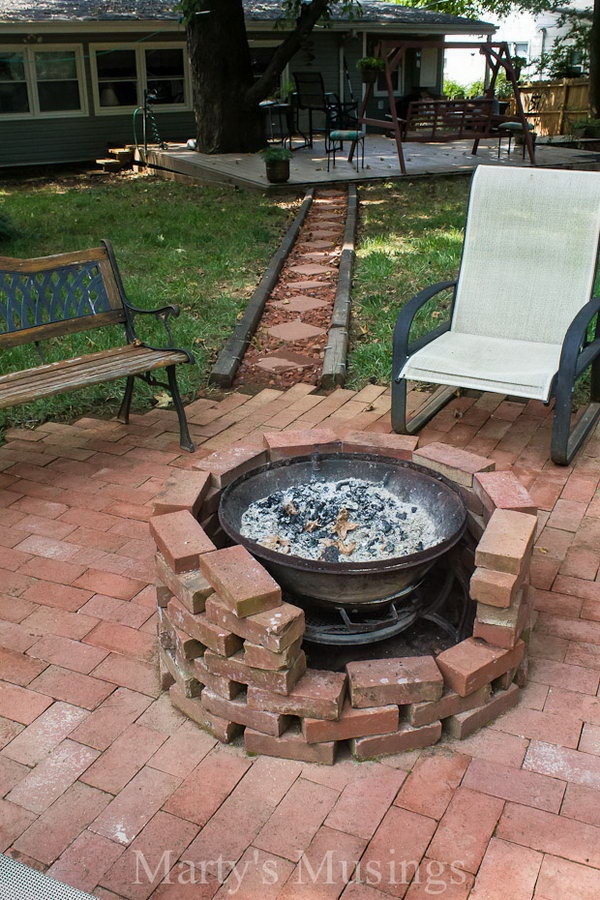 How to DIY a Fire Pit for Your Backyard: Ideas and ... on Backyard Fire Pit Ideas Diy id=19105