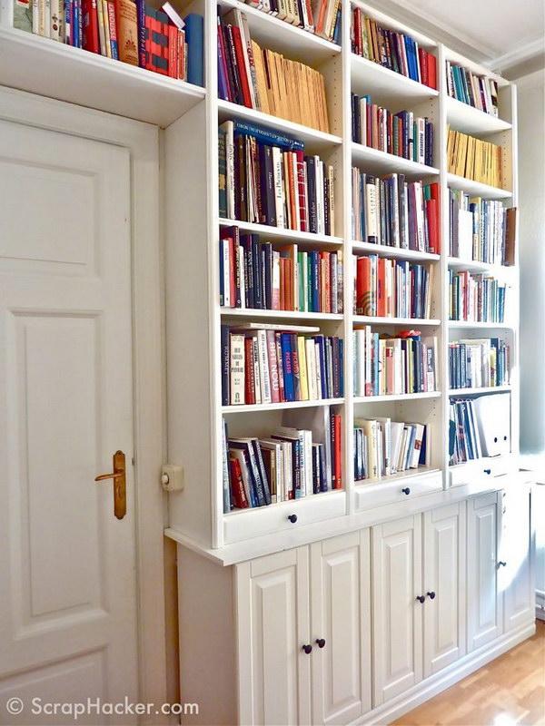 Bookcase Doors Low Long
