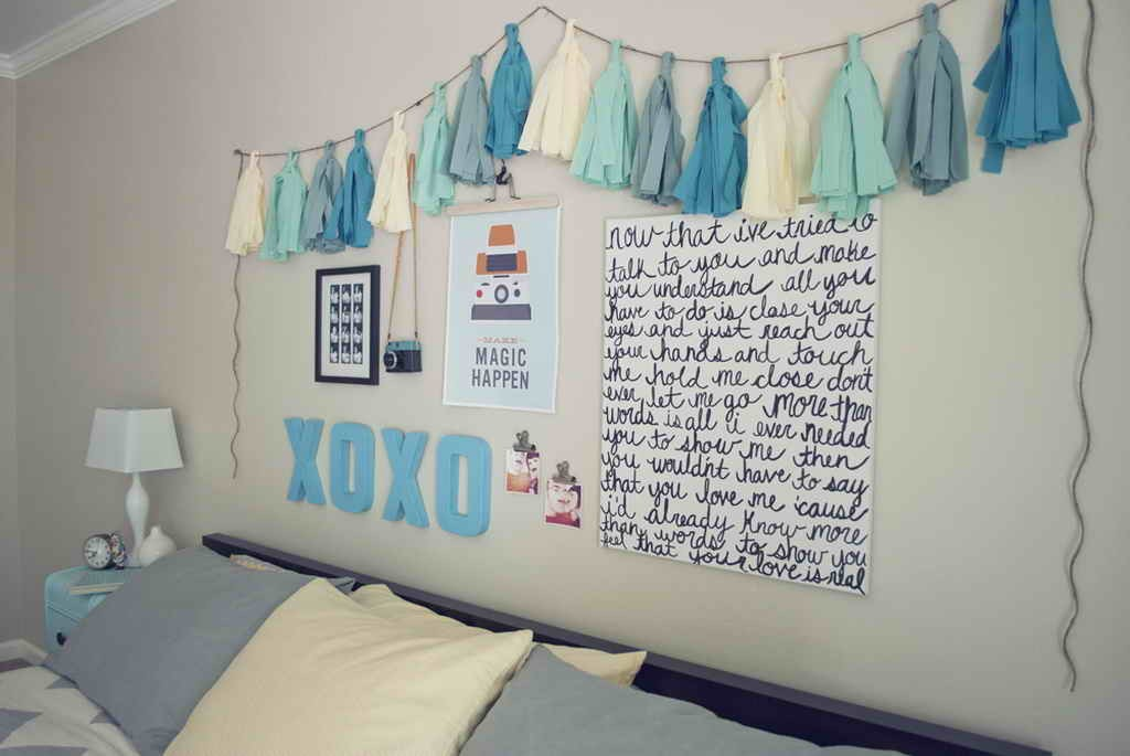 25  DIY Ideas   Tutorials for Teenage Girl s Room Decoration 2017 DIY Cheap and Easy Wall Art