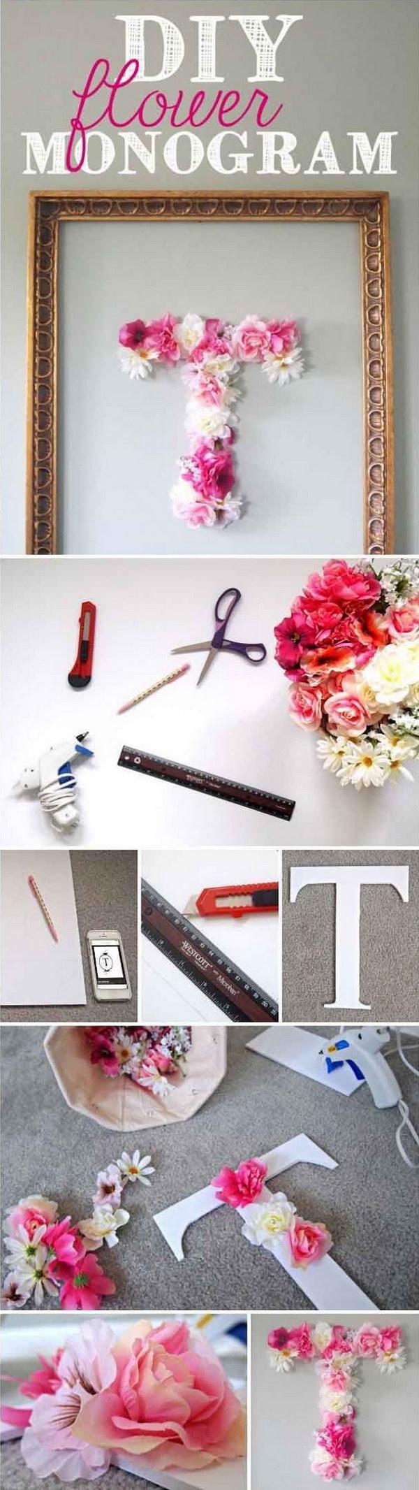 25+ DIY Ideas & Tutorials for Teenage Girl's Room ... on Teenage Room Decoration  id=57493