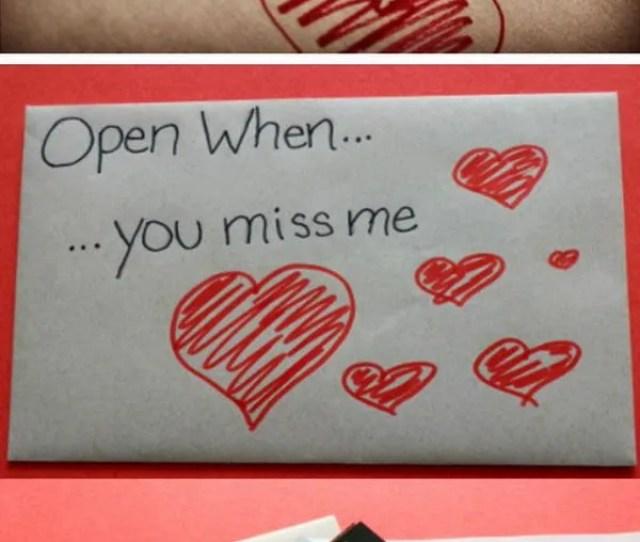Diy Open When Envelopes