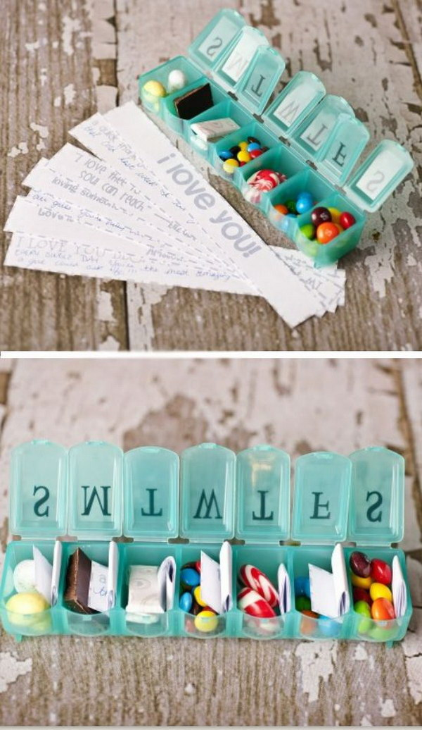 Romantic DIY Birthday Gift Ideas For Boyfriend