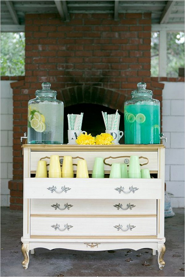 40 creative drink station ideas for