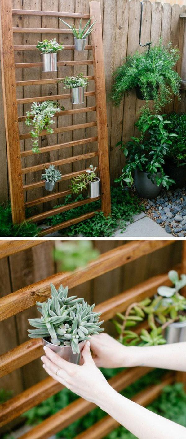Creative Indoor And Outdoor Succulent Garden Ideas 2017 on Garden Patio Wall Ideas id=57840