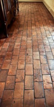 30  Awesome Flooring Ideas for Stylish Home 2017 Wood Block Floor Showing End Grain Like An Old Factory Floor