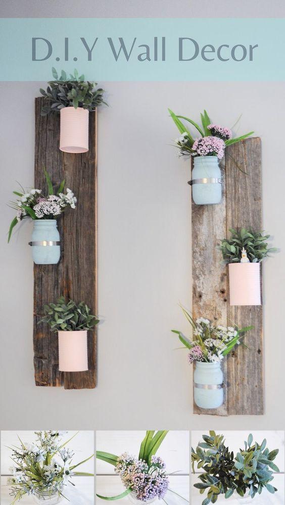 40 Rustic Wall Decor DIY Ideas 2017 on Wall Decor Ideas  id=95273