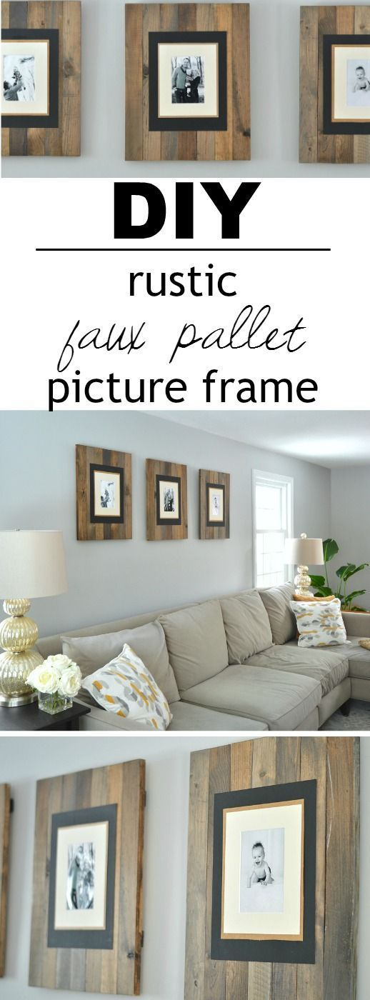 40 Rustic Wall Decor DIY Ideas 2017 on Picture Hanging Idea  id=45113