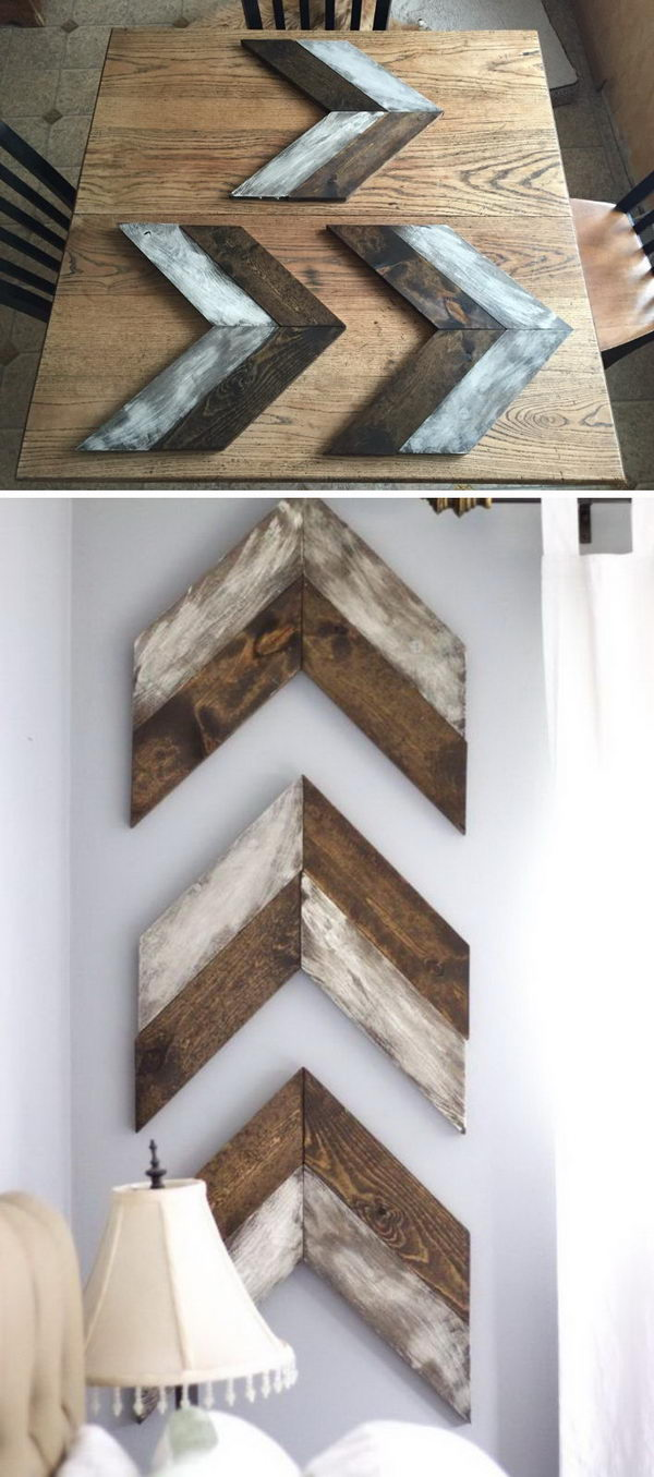 40 Rustic Wall Decor DIY Ideas 2017 on Picture Hanging Idea  id=22682
