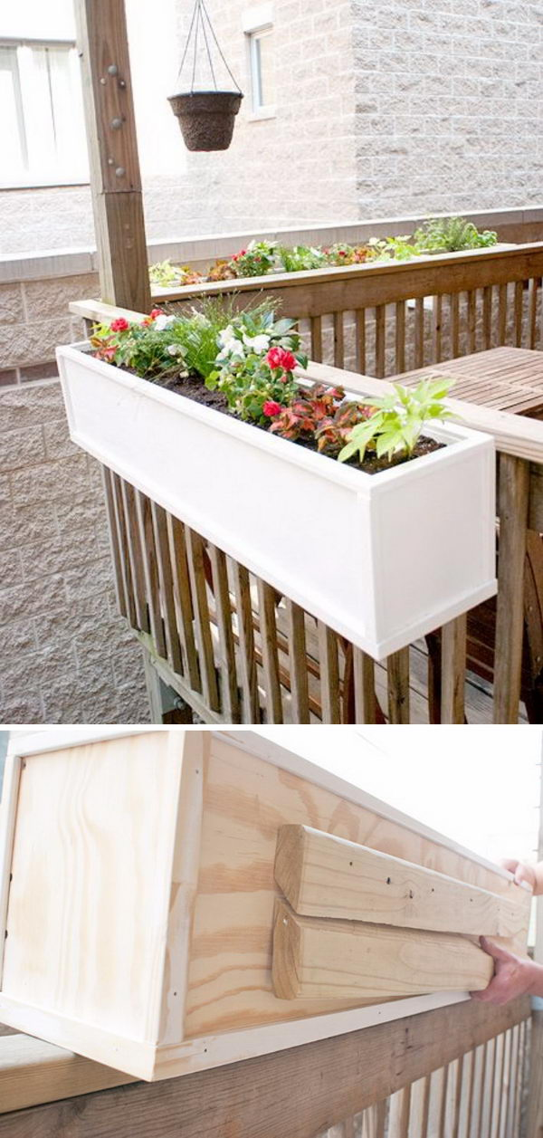 30 Creative Diy Wood And Pallet Planter Boxes To Style Up