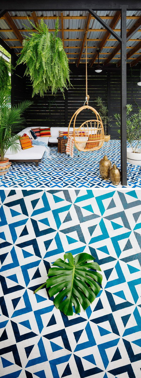 25 Cool Patio Floor Ideas for Outdoor 2017 on Cool Backyard Patio Ideas id=68228