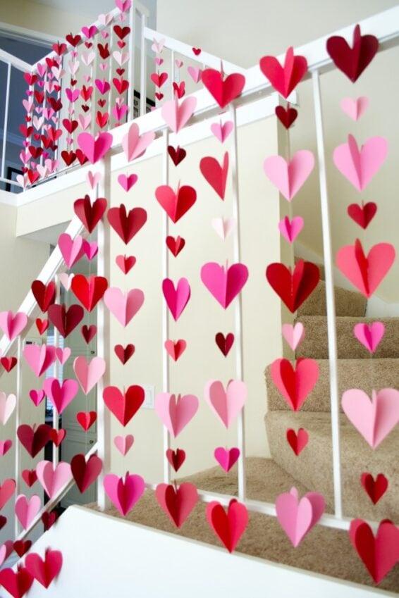 Heart garlands