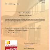 Erdei-D. Timea Certificate