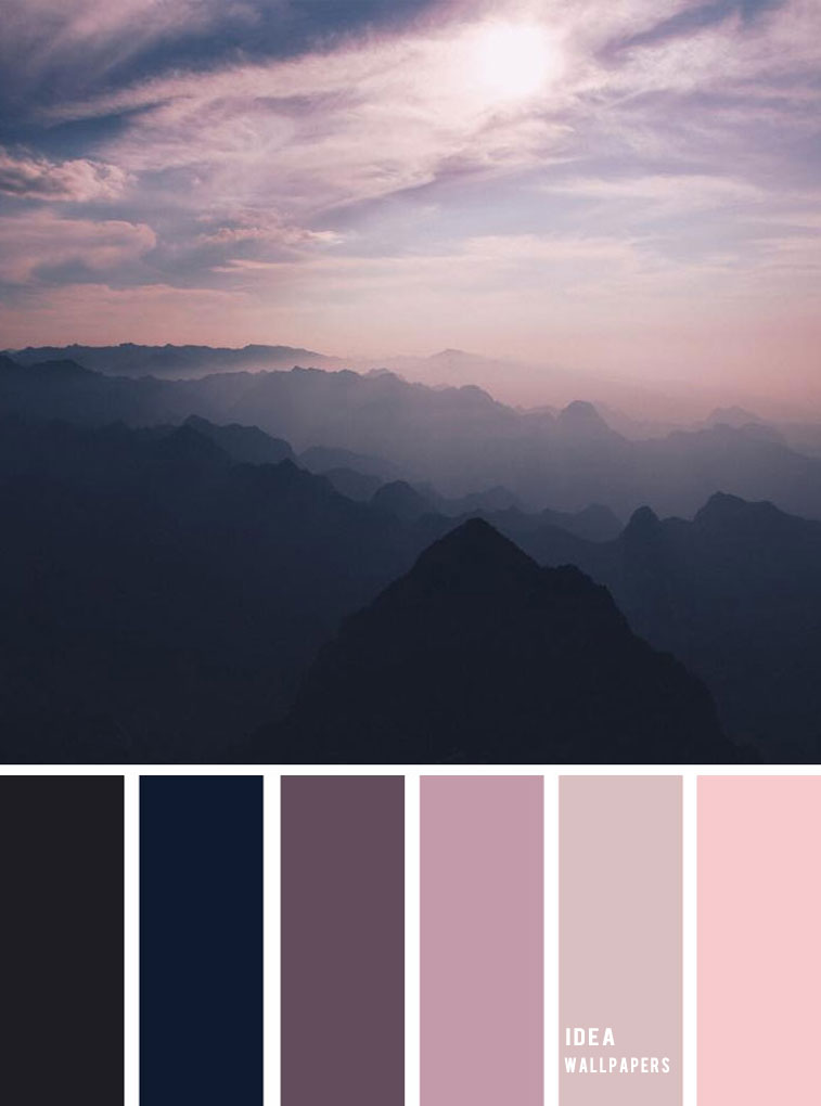 19 The Perfect Pink Color Combinations { Blush + Mauve + Charcoal }, pink color palette, colour palette #color #colorpalette