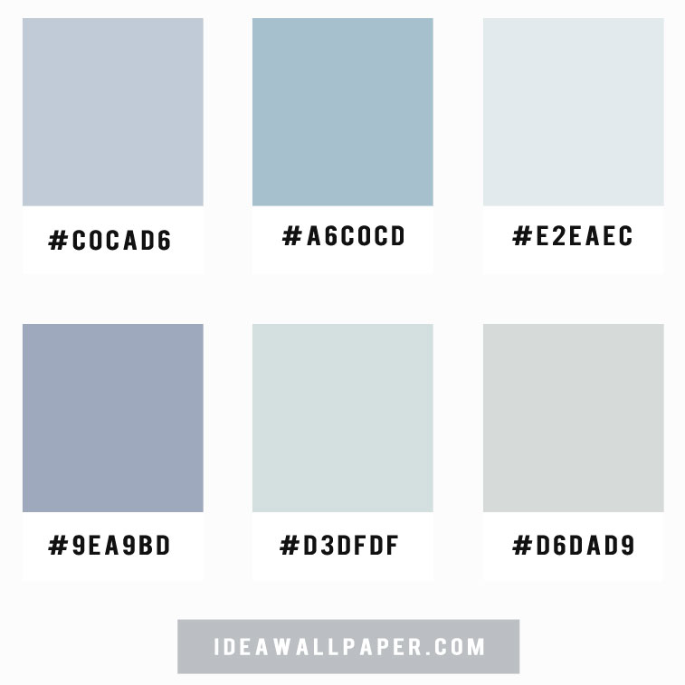 Shades of blue grey color scheme , color palette , blue grey color scheme #color #colorpalette