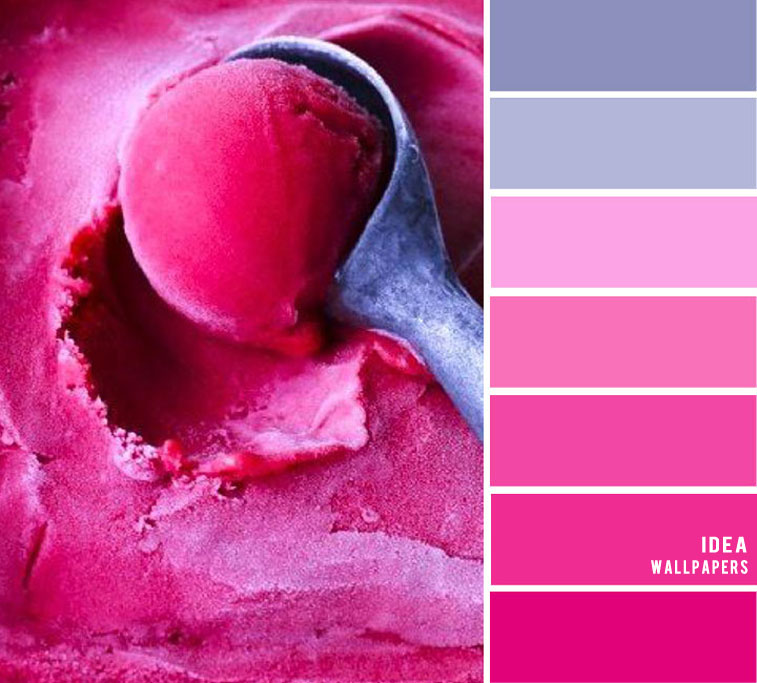 19 The Perfect Pink Color Combinations { Hot Pink and Metal Grey }, hot pink color palette, grey and hot pink colour palette #color #colorpalette