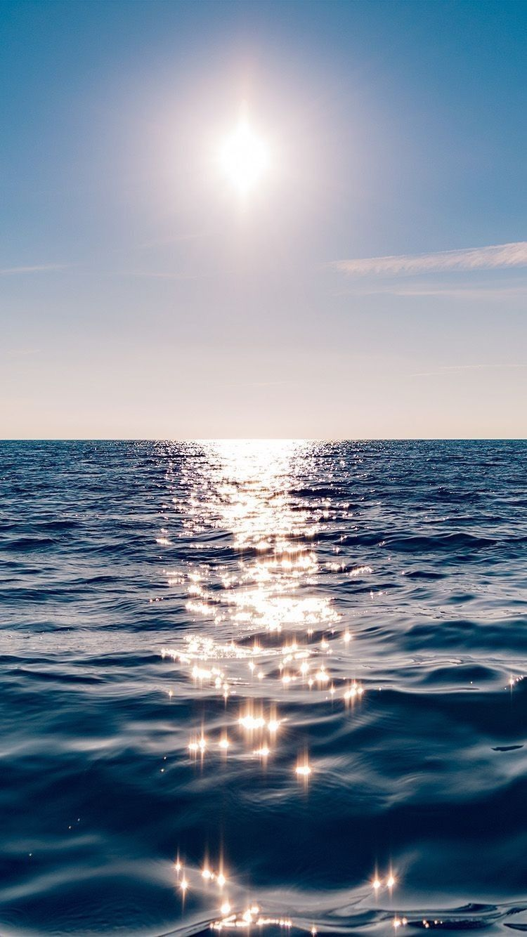 Beautiful ocean iPhone wallpaper