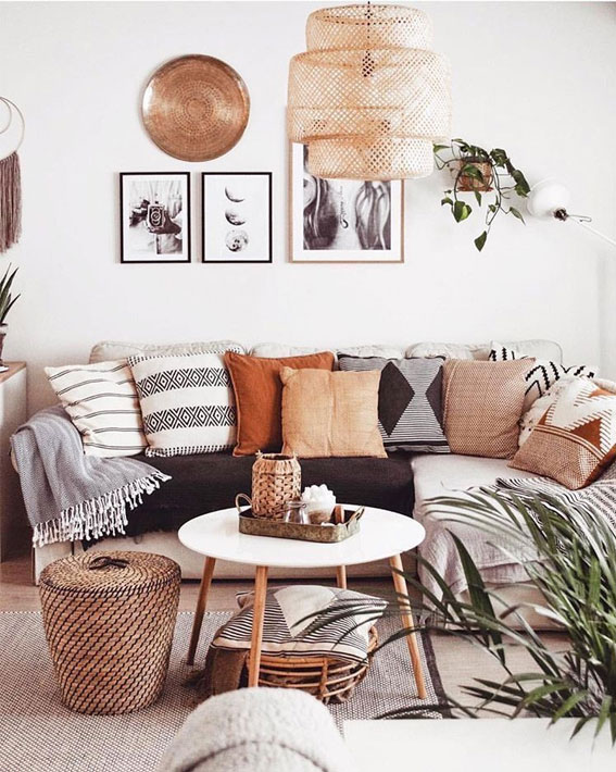 Boho living room Ideas that make you want to change your living room