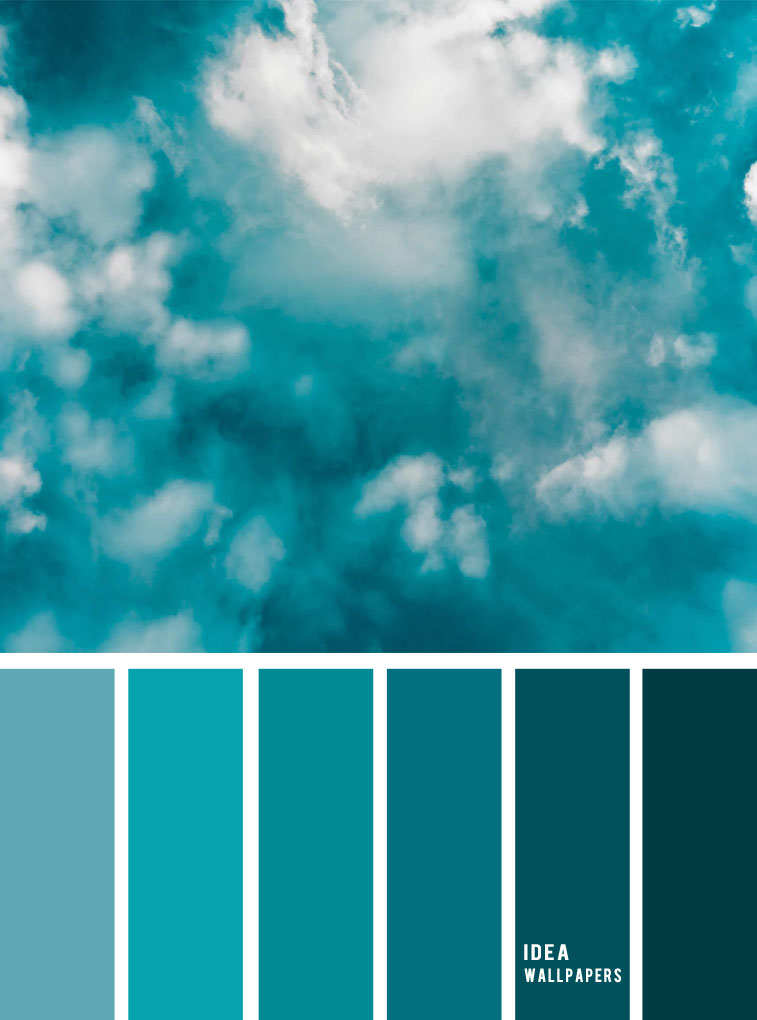 Color inspiration : Green teal peacock #color #colors #pantone #teal #green