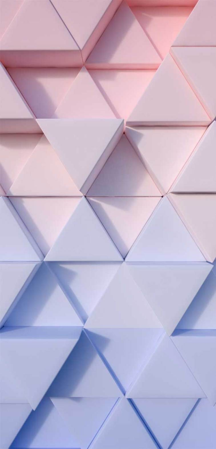 Ombre pink blue geometric wall #wallpaper #background #modern pattern