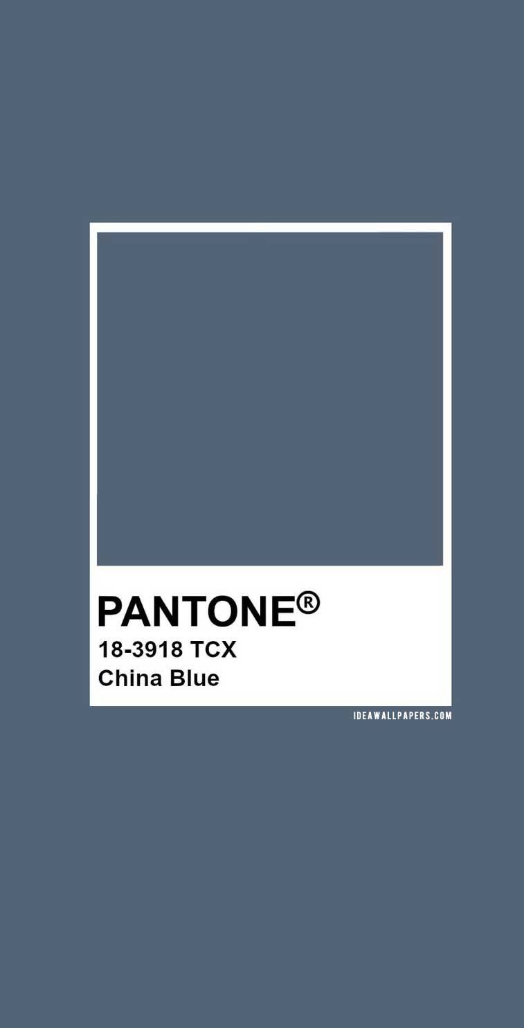 Pantone China Blue : Pantone 18-3918 #color #pantone #blue