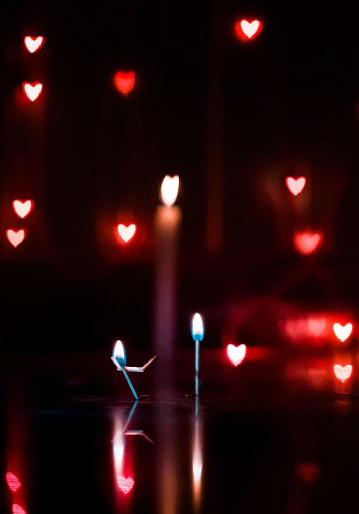 light, hearts iphone wallpaper #romantic #light #heartshape