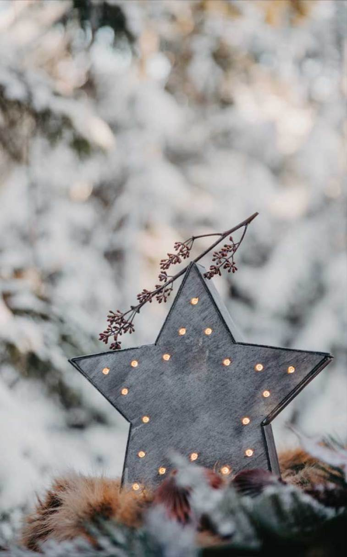 Christmas ornament , winter #star light up #winter