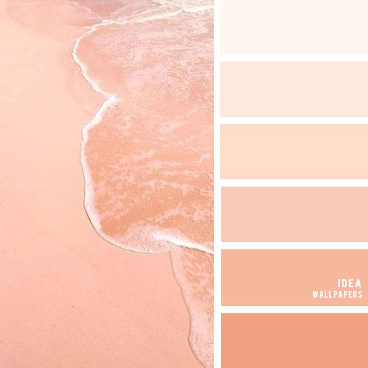Peach Hues Color Palette #color #peach #pantone #colorinspiration
