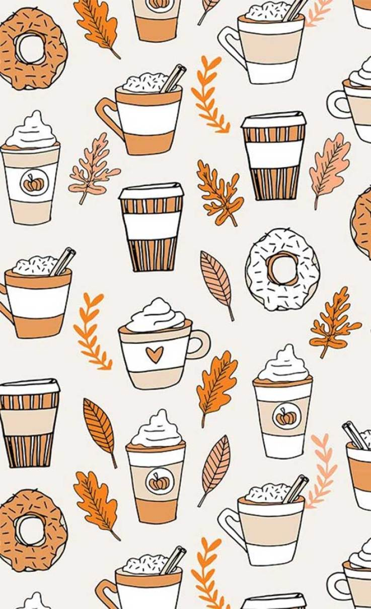 15 pretty autumn watercolor images, autumn images free, fall images, beautiful pictures of autumn season, fall pictures ideas, autumn pictures wallpaper, illustration iphone wallpaper, watercolor iphone background, fall scenes #fall #autumn #autumnimages