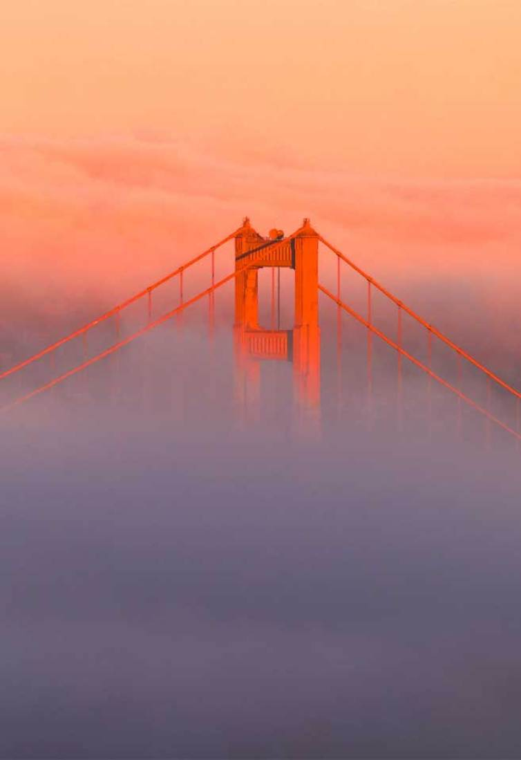 100 Beautiful Golden Gate Bridge covers by foggy #iphonewallpaper #background iphone wallpapaer background for phone
