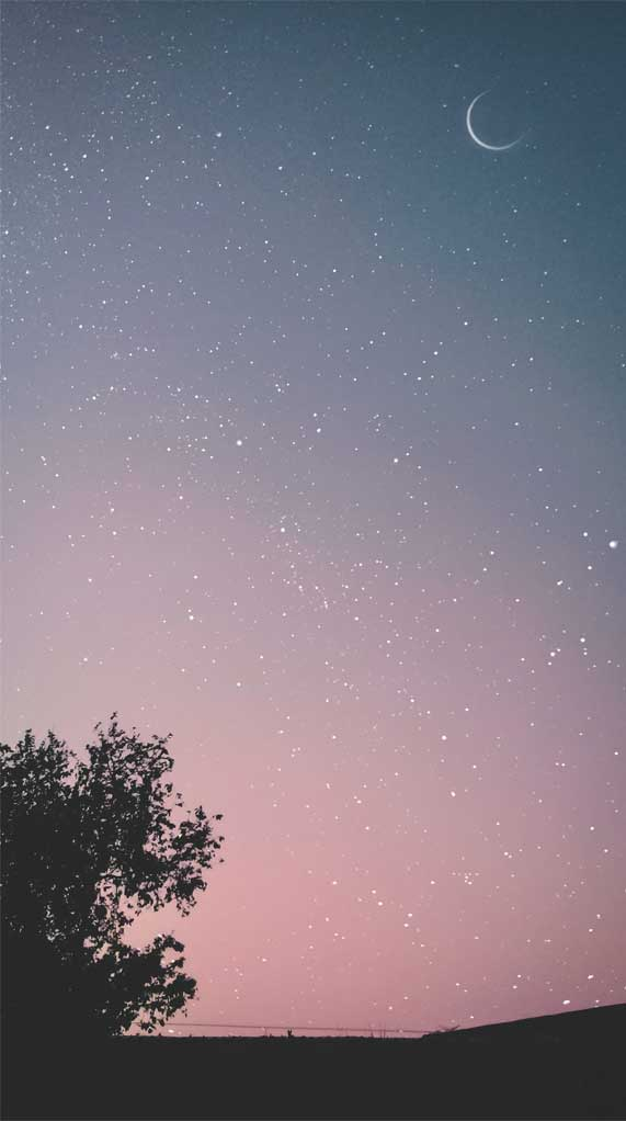 a million stars in the sky, iphone wallpaper, stars iphone wallpapers, stars wallpaper iphone #iphonewallpaper