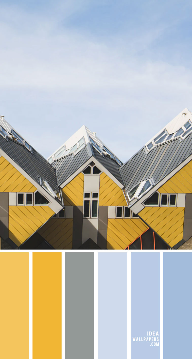 blue grey yellow color scheme, grey and yellow color scheme, grey and yellow color combo, grey and yellow color combination