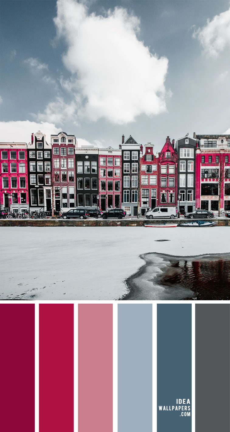 red pink and blue color scheme, blue grey and pink color scheme, pink and blue color combo