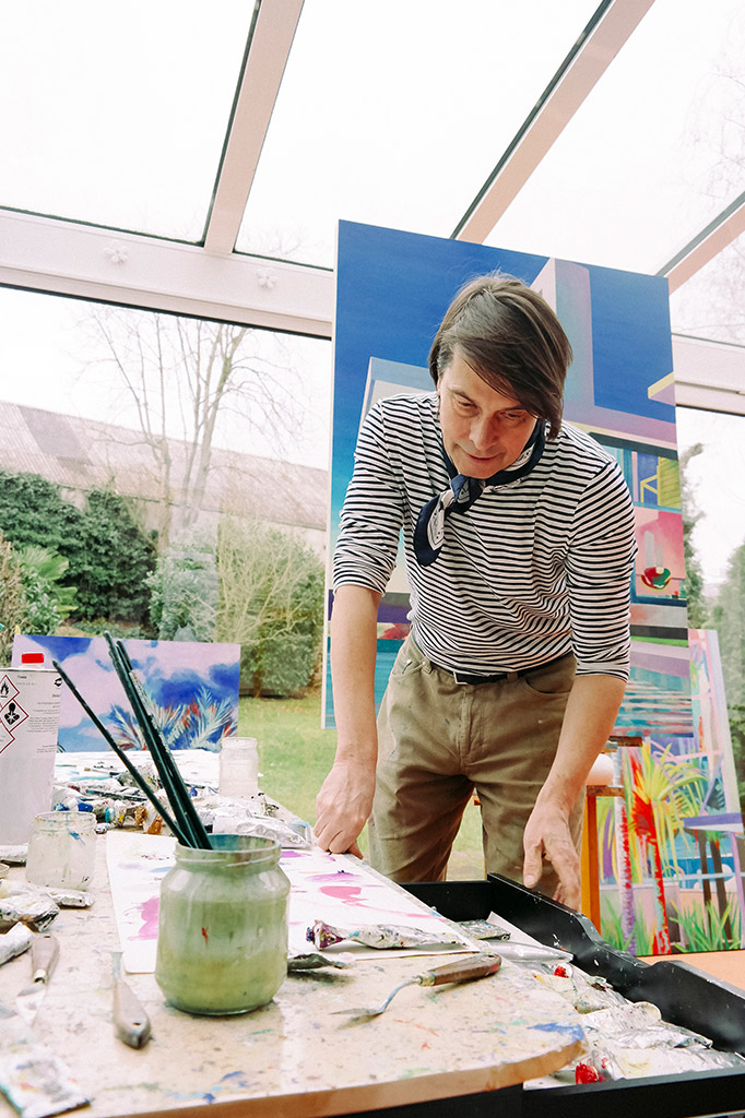 Leif Trenkler · I DECLARE COLORS Blog Interview · zeitgenössische Kunst · Eva Karl · Künstler Köln
