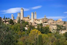 Toscana: panorama di San Gimignano 1
