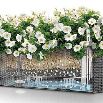 balkonkasten mit wasserspeicher 100 cm. Black Bedroom Furniture Sets. Home Design Ideas