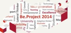 Wordcloud be.project 2014