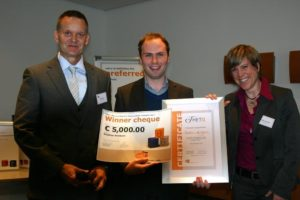 Sieger des Innovationswettbewerbs cut-e theta award