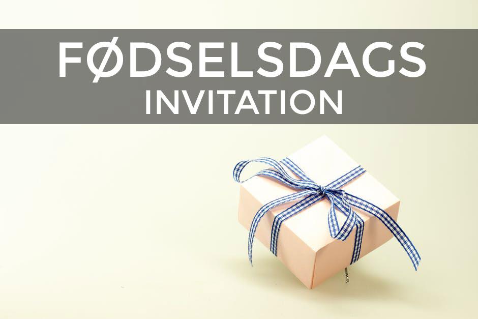 forslag til fødselsdagsinvitationer