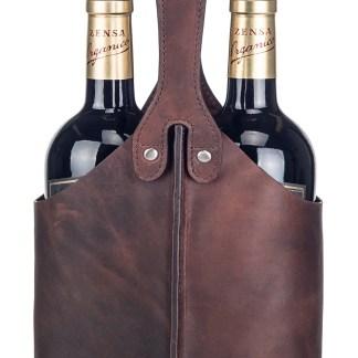 Dobbel vinflaskeholder