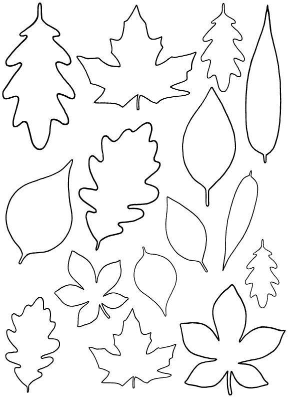 Maple Leaf Patterns Small Printable