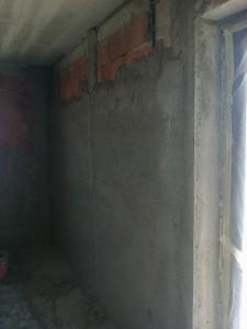 tencuirea peretilor aproape de gata
