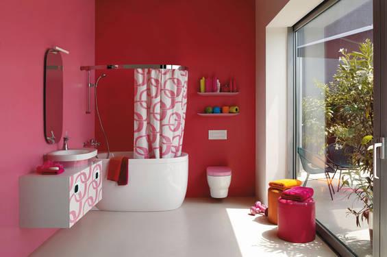 baie poze roz