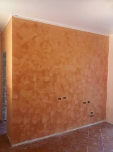 portocaliu stucco venetian