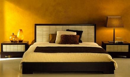 model dormitor japonez