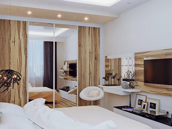 dormitor alb cre contemporan