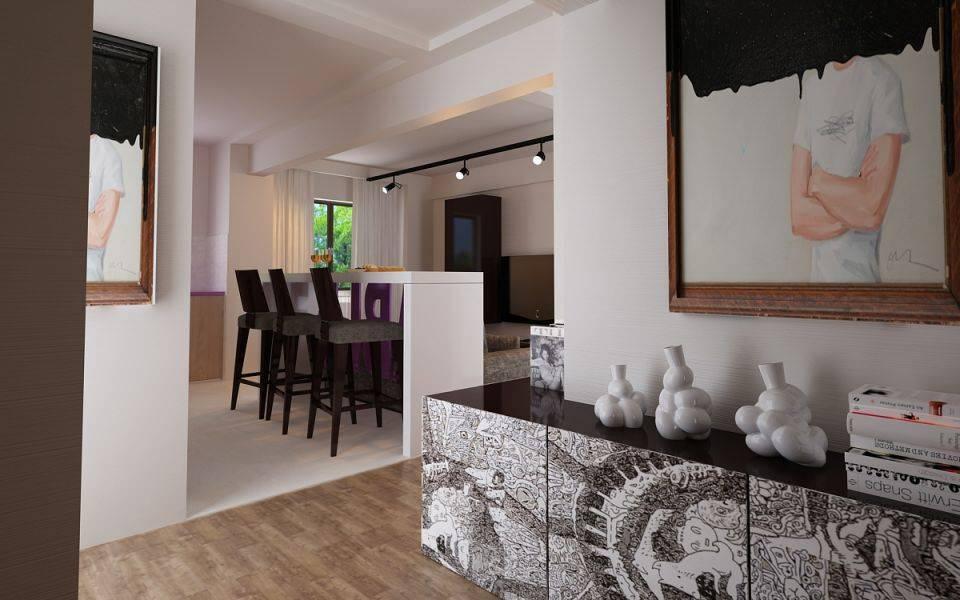amenajare apartament open space