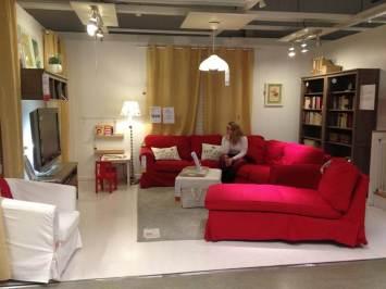 canapele pentru living room rosii